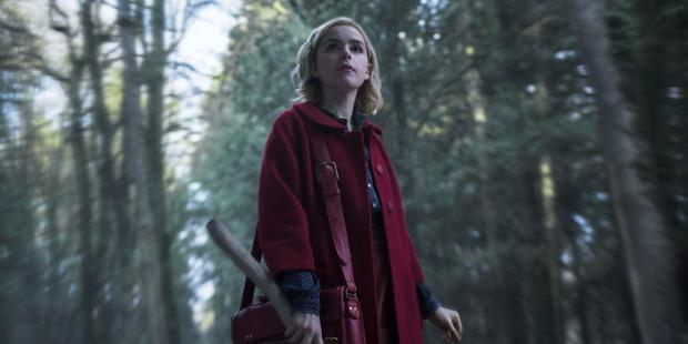 Chilling Adventures of Sabrina, starring Kiernan Shipka, is light (or even dark) years away from the child-friendly original