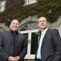 (L-R) Paul Connell, CEO, Pure Telecom, and Peter Evans, Director of Wholesale and Strategy, BT Ireland