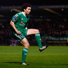 Barry McNamee was on the score-sheet for Cork City tonight. Photo by Stephen McCarthy/Sportsfile
