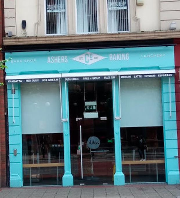 Ashers Bakery are set to close their Belfast city centre store Photo: Google Maps