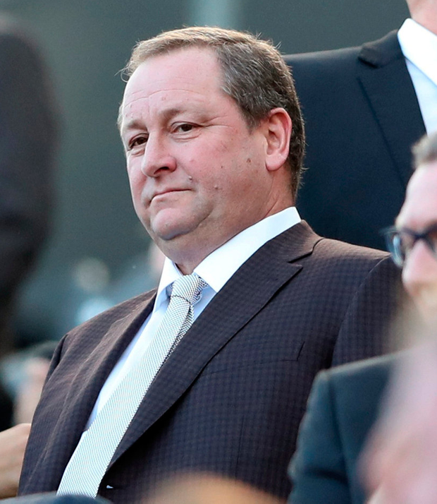 Newcastle United owner Mike Ashley. Photo: Reuters