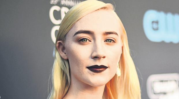 Unusual relationship: Saoirse Ronan, who will star in 'Mary Queen of Scots' later this year, has hailed the impact of mother Monica in her career. Photo: Matt Winkelmeyer/Getty Images
