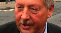 Accusation: DUP MP Sammy Wilson said the Taoiseach lacked 'self control.' Photo: Michael McHugh/PA Wire