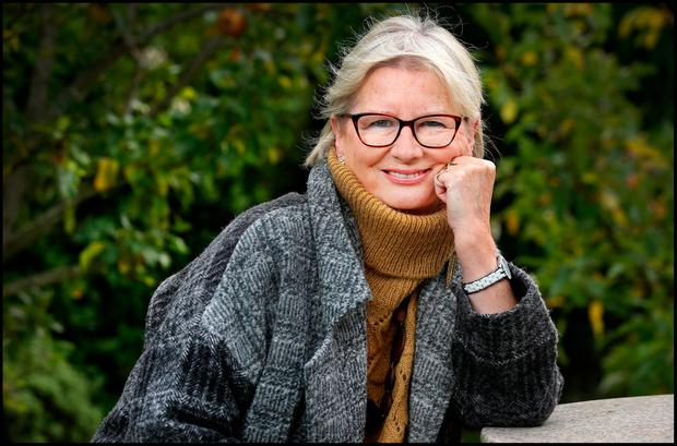 Balance: Deirdre Purcell spent six years on 'Morning Ireland' on RTÉ doing the 'It Says in the Papers' slot of the show. Photo: Steve Humphreys