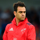 It was this time last year that Johann van Graan was announced as the replacement for Rassie Erasmus and so far the signs have been positive under his leadership. Photo: Sportsfile