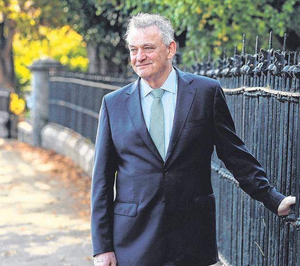 Presidential candidate Peter Casey. Photo: Brian Lawless/PA Wire