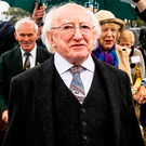 Michael D Higgins. Photo: Liam McBurney/PA Wire
