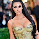Kim Kardashian arrives for the 2018 Met Gala on May 7, 2018, at the Metropolitan Museum of Art in New York