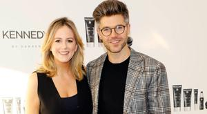 Cassie Stokes and Darren Kennedy at the launch of Kennedy & Co, hosted in the exclusive apartments for sale in Lansdowne Place. Picture: Kieran Harnett