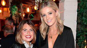 Lauren Arthurs and Louise Cooney at the Sherry Communications vintage-themed birthday party at House on Leeson Street, Dublin. Picture: Brian McEvoy