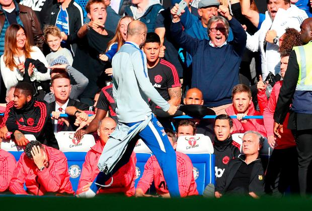 Mourinho plays down touchline melee after 'awful' Chelsea draw