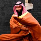SAUDI CROWN PRINCE: Mohammad bin Salman. Photo: Victoria Jones/PA Wire