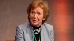 Mary Robinson. Photo: Damien Eagers / INM