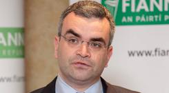 TALKS: Fianna Fail deputy leader Dara Calleary. Photo: Mark Stedman/RollingNews.ie