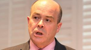 GONE: Denis Naughten quit as Communications Minister. Photo: Gareth Chaney Collins