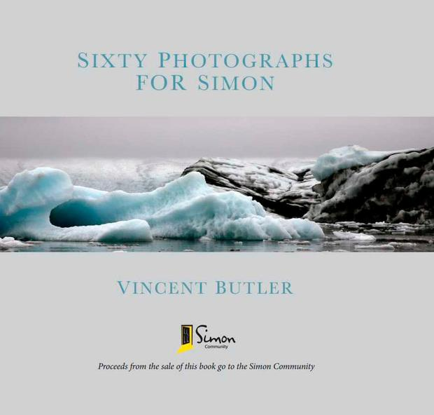 The cover of the book in aid of the Simon Community