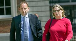SUCCESS AND FAILURE: Maurice McCabe and his wife Lorraine finally received some measure of justice. Photo: Tony Gavin