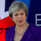 Britain's Prime Minister Theresa May sought to reassure UK business over Brexit during a conference call with more than 130 chief executives and officials