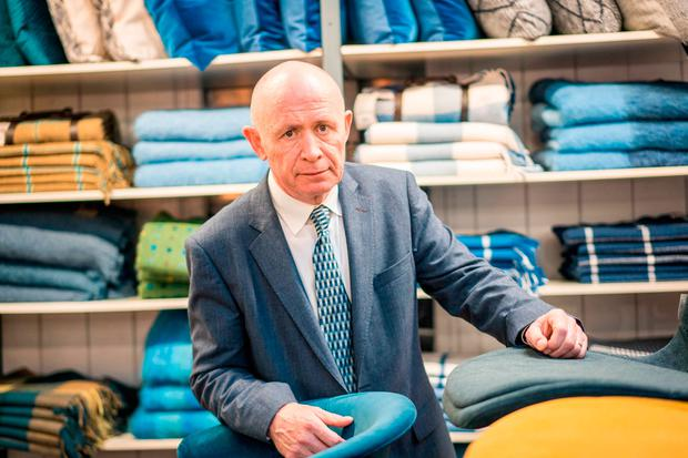 Joe Queenan, managing director at Foxford Woollen Mills. Picture: Keith Heneghan
