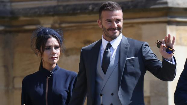 David and Victoria Beckham have been married for 19 years (Chris Jackson/PA)