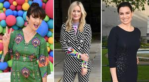 (L to R) Jennifer Zamparelli, Laura Whitmore and Caroline Morahan