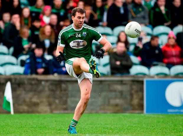 Gaoth Dobhair's Eamonn McGee in action during the County final. Photo: Oliver McVeigh/Sportsfile