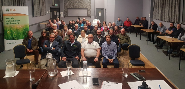 The IFA meeting on Saturday night about the issues farmers raised with them.