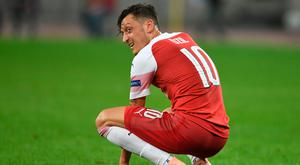 Mesut Ozil's injury record has come under scrutiny recently. (Photo by Stuart MacFarlane/Arsenal FC via Getty Images)