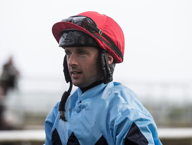 Rory Cleary rode his first winner 15 years ago but is in the lucky position of never having to worry about weight issues. Photo: Patrick McCann