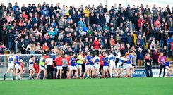 Melee in the Dingle v East Kerry match. Photo: Domnick Walsh