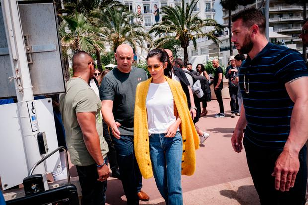 Singer Cheryl departs the Martinez Hotel during the 71st annual Cannes Film Festival at on May 12, 2018 in Cannes, France. (Photo by Gareth Cattermole/Getty Images)