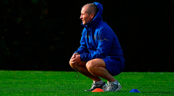 French lesson: Stuart Lancaster hopes to move on from last weekend's Toulon defeat. Photo by Brendan Moran/Sportsfile