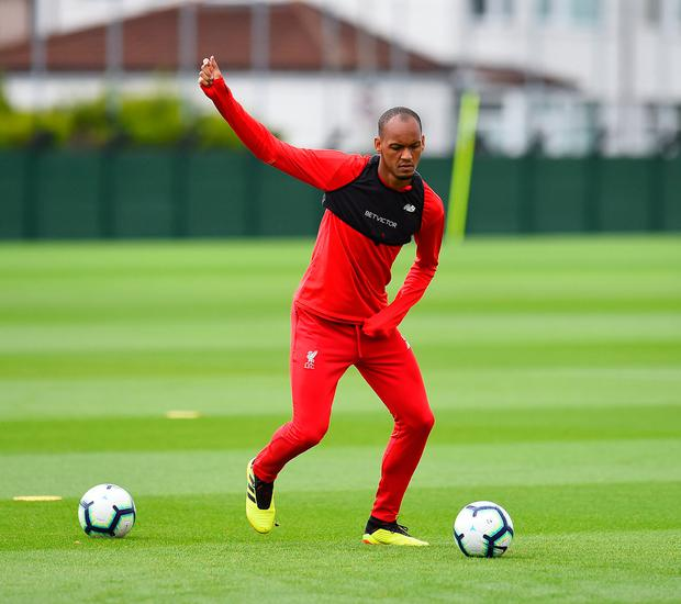61472356c6f Liverpool will be hoping that Fabinho steps up to the mark against Red Star  Belgraade at