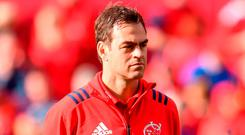 Munster head coach Johann van Graan. Photo: Sam Barnes/Sportsfile