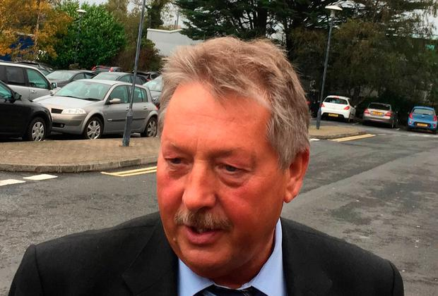Ramping up rhetoric: DUP MP Sammy Wilson. Photo: PA Wire