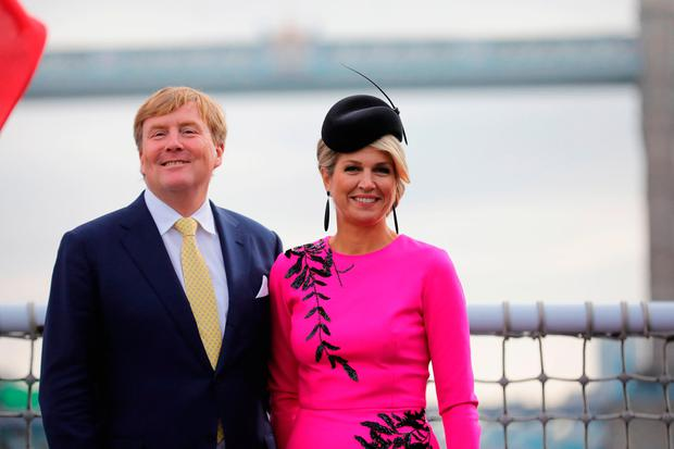 King Willem-Alexander of the Netherlands and Queen Maxima of the Netherlands in London