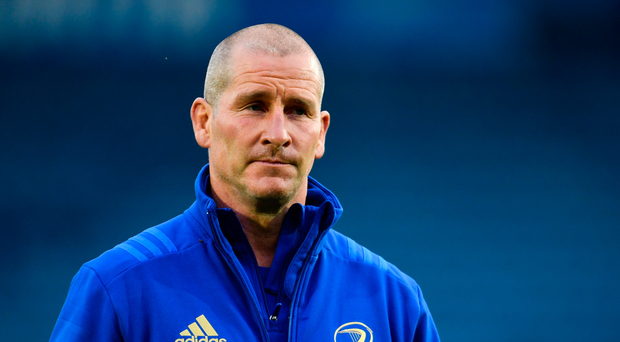 22 September 2018; Leinster senior coach Stuart Lancaster ahead of the Guinness PRO14 Round 4 match between Leinster and Edinburgh at the RDS Arena in Dublin. Photo by Ramsey Cardy/Sportsfile
