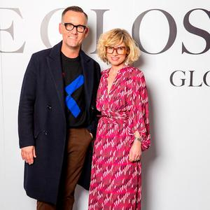 Brendan Courtney and Sonya Lennon at The Gloss Magazine's Look the Business Event at Mansion House. Picture: Conor Healy Photography