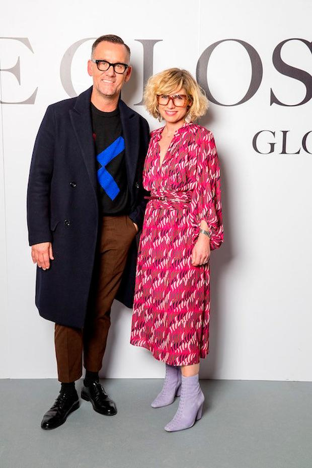 1488d0bff2 Brendan Courtney and Sonya Lennon at The Gloss Magazine s Look the Business  Event at Mansion House