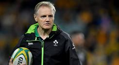 Schmidt is expected to leave a number of front-liners behind when he takes a squad of around 26 to Chicago for the opening game against Italy. Photo: Brendan Moran/Sportsfile