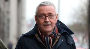 Abused: Former 'Irish Times' environment editor Frank McDonald. Picture: Collins
