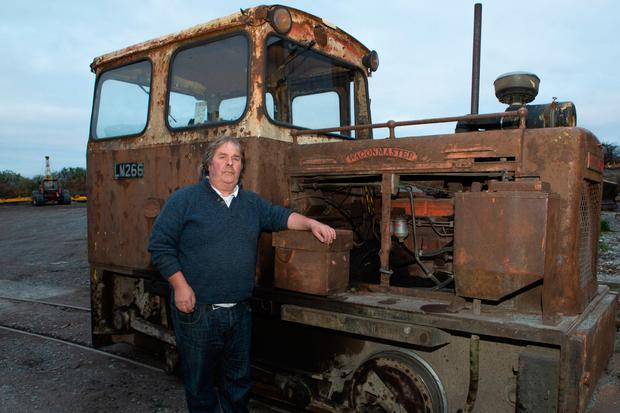 Livelihood: Pat Phelan works for Bord na Móna in Co Offaly. Photo: Ger Rogers