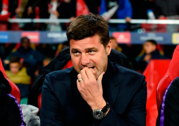 Mauricio Pochettino: 'We only have one point after three games. It will be very difficult.' Photo: JOHN THYS/AFP/Getty Images