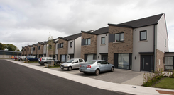 No choice: Most housing estates tend to be homogeneous with little difference in house type