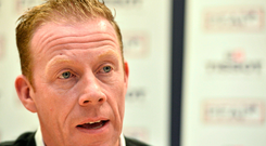 Stephen McGuinness, General Secetary of the PFAI