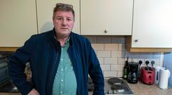 Handy excuse: Seamus Murphy has 40 rooms for rent on Airbnb and can't understand the 'extreme' new rules. Photo: Douglas O'Connor