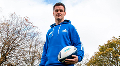 Ireland and Leinster rugby star Johnny Sexton has teamed up with MACE, the country's longestserving convenience brand. Photo: INPHO/Billy Stickland