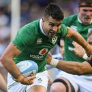 Ronan O'Gara (inset) has tipped Conor Murray to start against the All Blacks