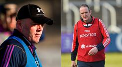 Anthony Daly and Mattie Kenny are believed to be in the running for the position