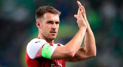 Arsenal's Aaron Ramsey